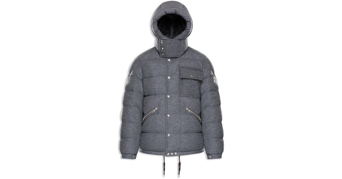 6d53af5d3c64 Lyst - Moncler Lioran Hooded Puffer Jacket in Gray for Men