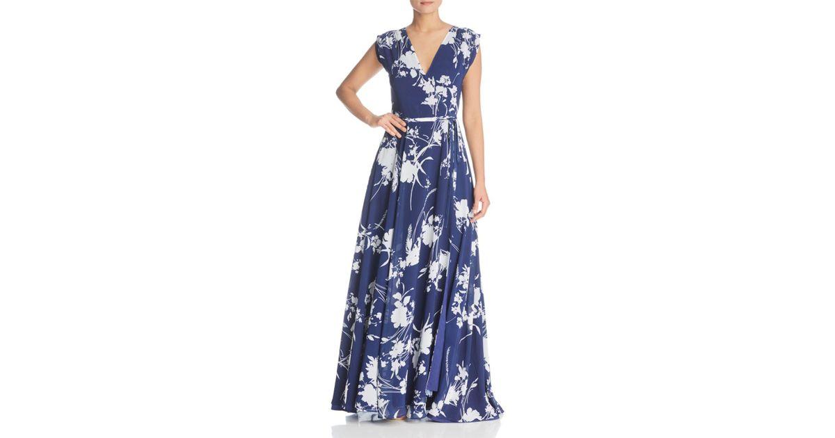 107104de2de6 Yumi Kim Sashay Away Wrap Maxi Dress in Blue - Lyst