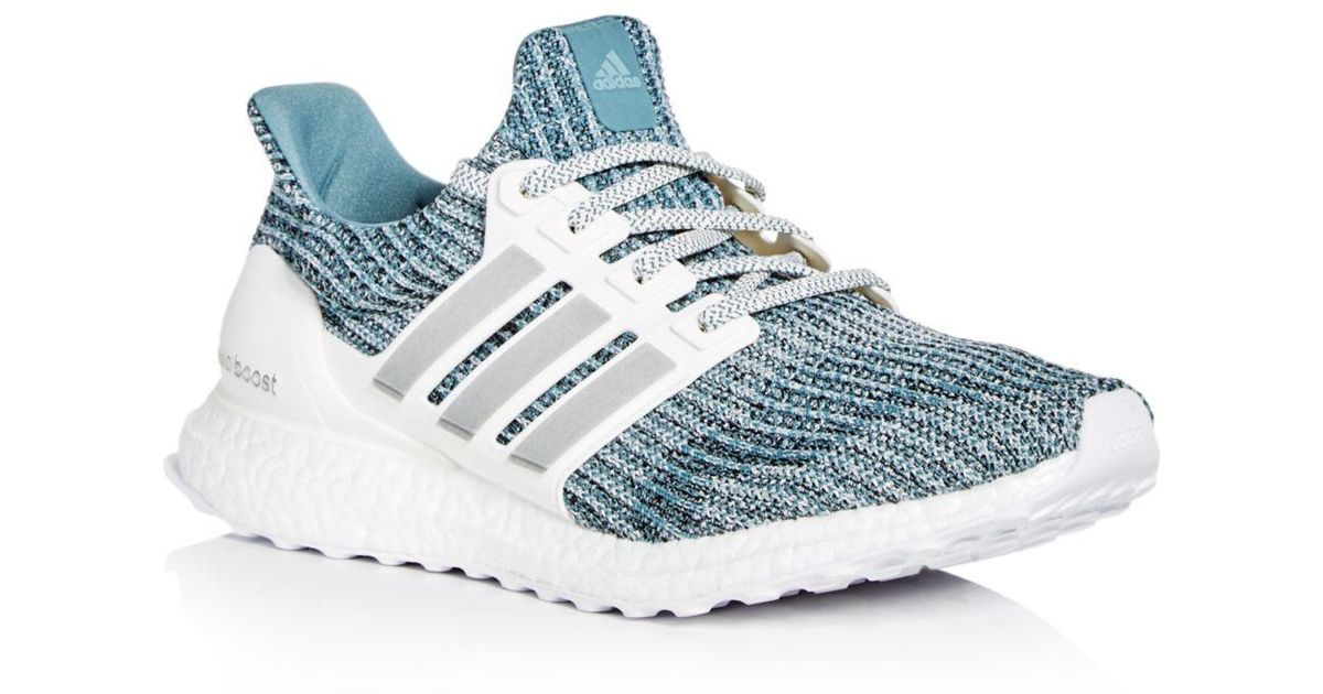 8ca9bab2af8ab adidas Men s Ultraboost Ltd Knit Lace Up Sneakers in Blue for Men - Lyst