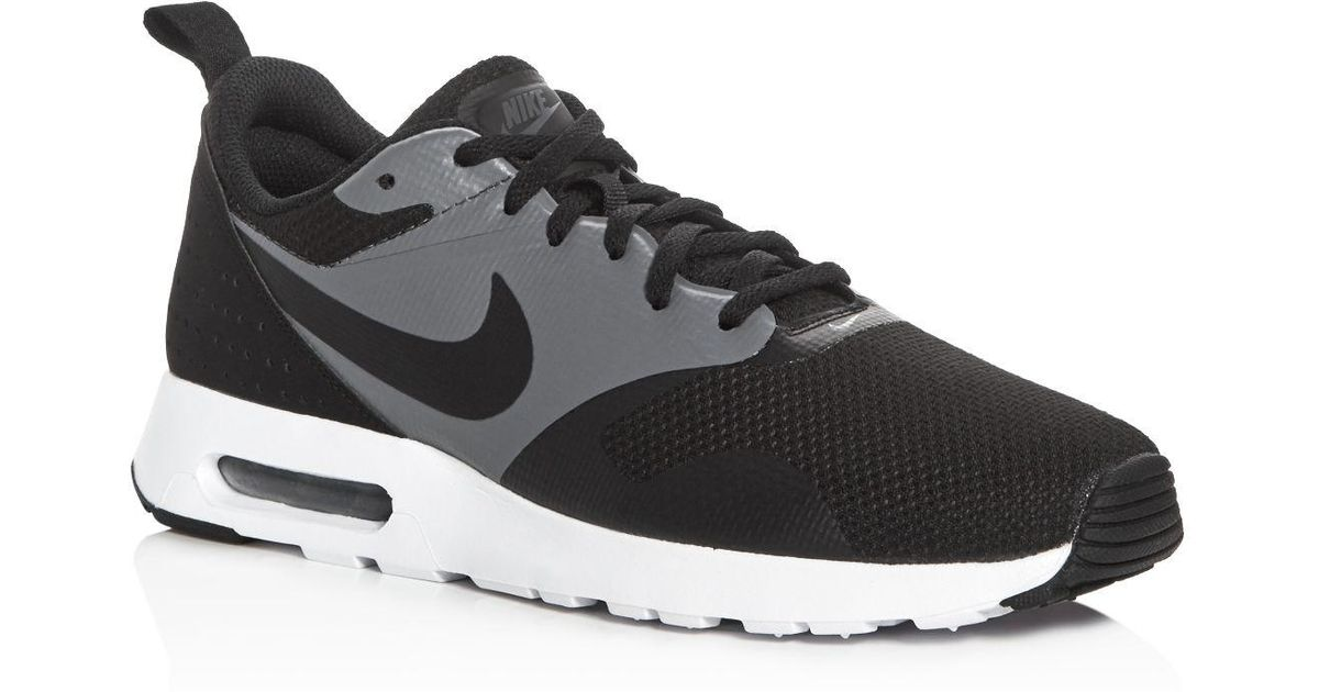 c81a58a28d4 ... low price lyst nike mens air max tavas special edition lace up sneakers  in black for