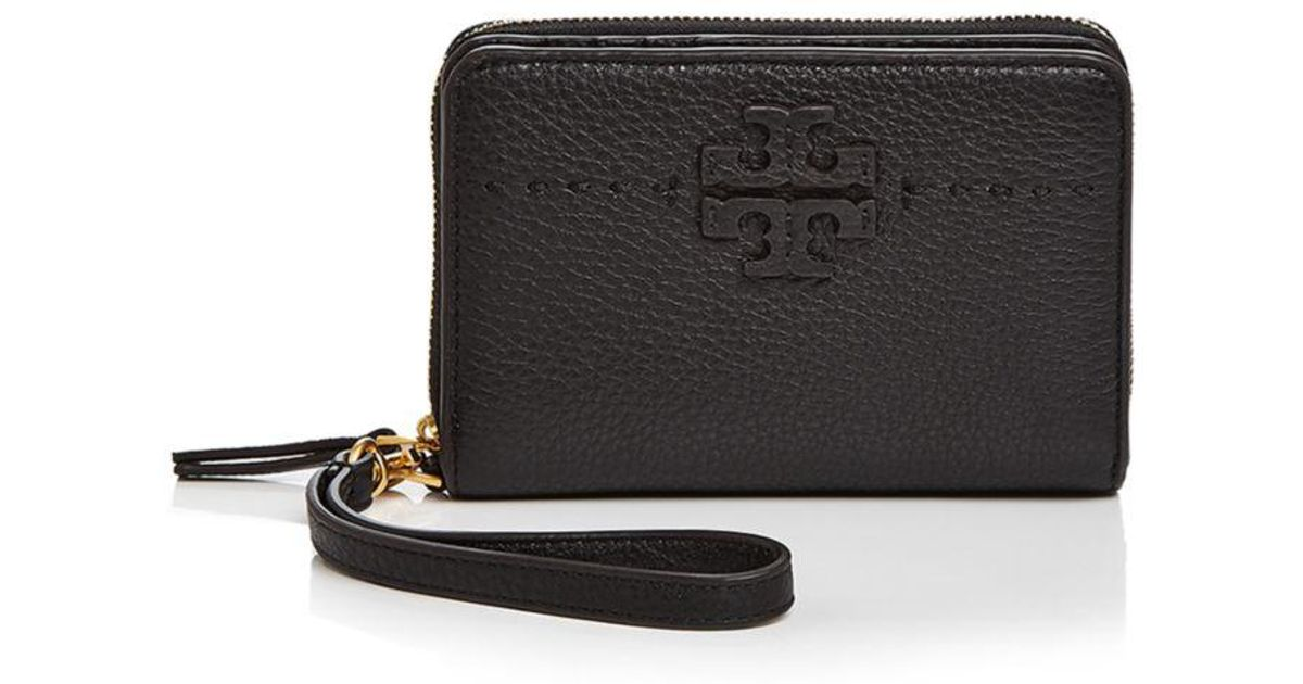651cfd4f941 Lyst - Tory Burch Mcgraw Leather Bifold Wallet