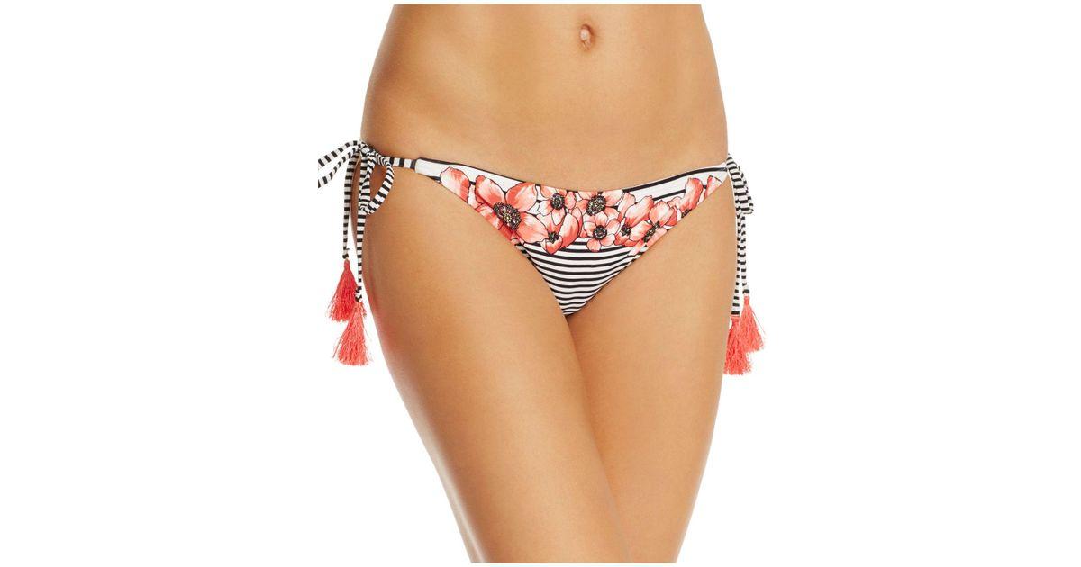 Lyst - Vince Camuto String Bikini Bottom String Bikini Bottoms Malfunction