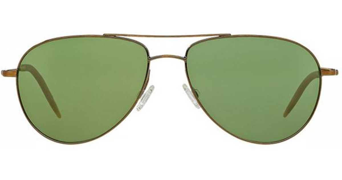 a49494d8750 Oliver Peoples Benedict Antique Gold in Metallic - Lyst