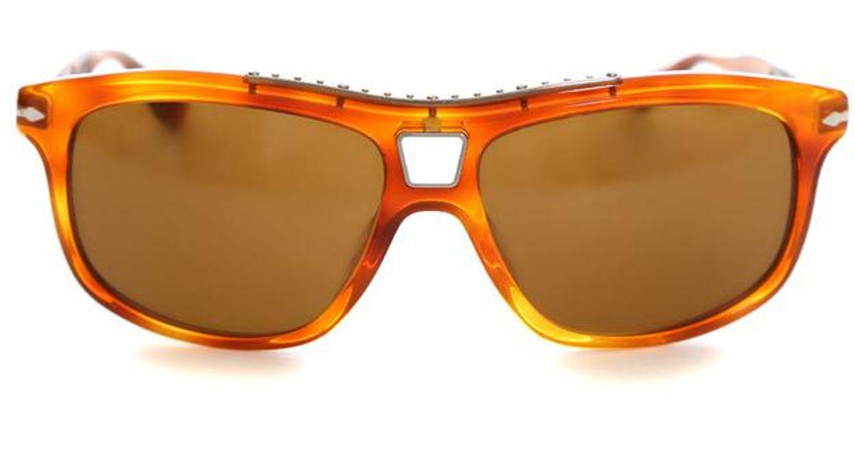 39dd4f29ad Lyst - Persol Roadster Sunglasses in Brown