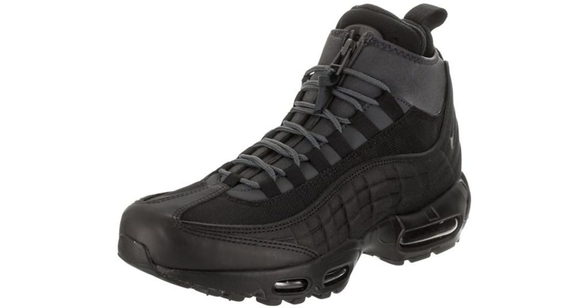 f6b1f89a920 ... coupon code for lyst nike mens air max 95 sneakerboot boot in black for  men 748df