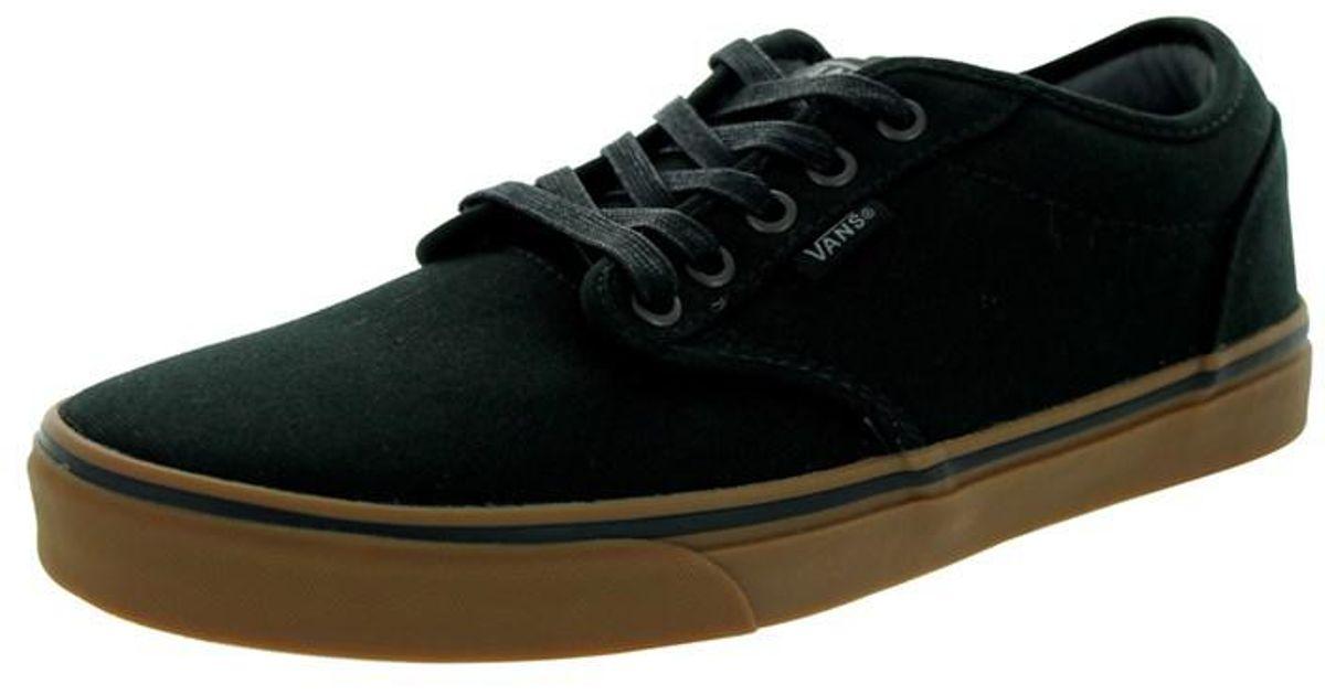 2ef858ea2a55d Lyst - Vans Men s Atwood (12 Oz Canvas) Skate Shoe in Black for Men