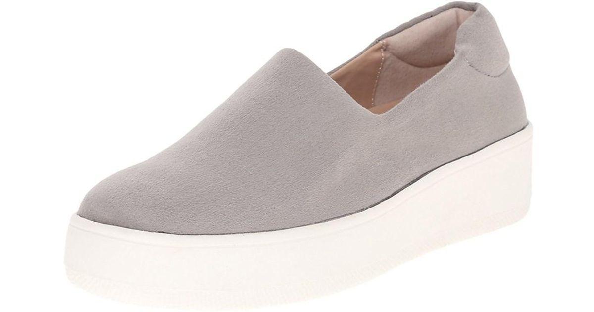 35e5ffc62b3 Lyst - Steven By Steve Madden Womens Hilda Low Top Slip On Fashion Sneakers  in Gray