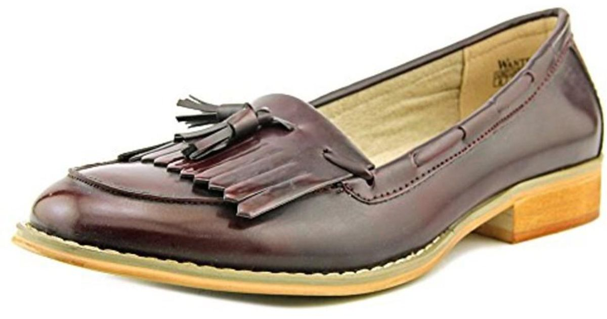 78eaccfe0cd Lyst - Wanted Women s Charlie Loafers Shoes in Red