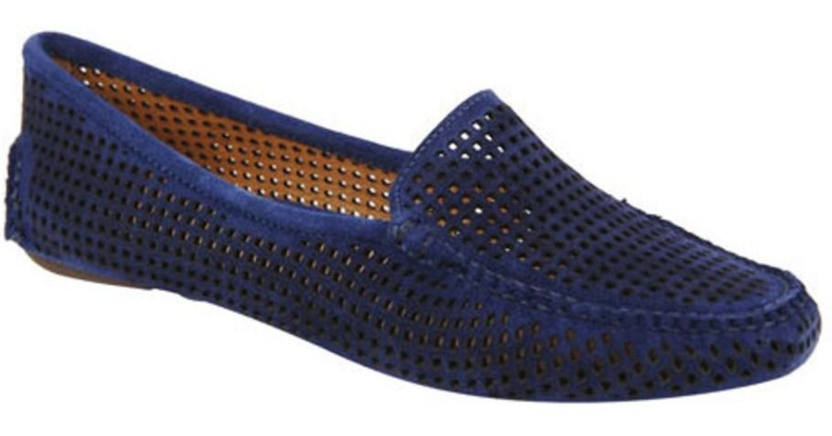 Discount Sale Patricia Green Barrie Loafer Women Navy Suede