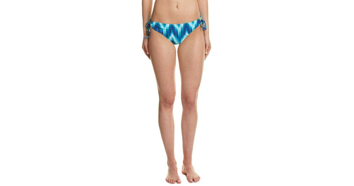 154406b5fe Lyst - La Blanca New Wave Loop Side Swim Bottom in Blue