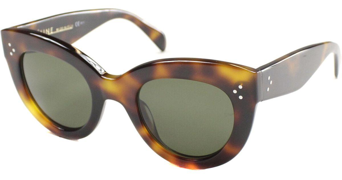 Celine White Cat Eye Sunglasses Les Baux De Provence
