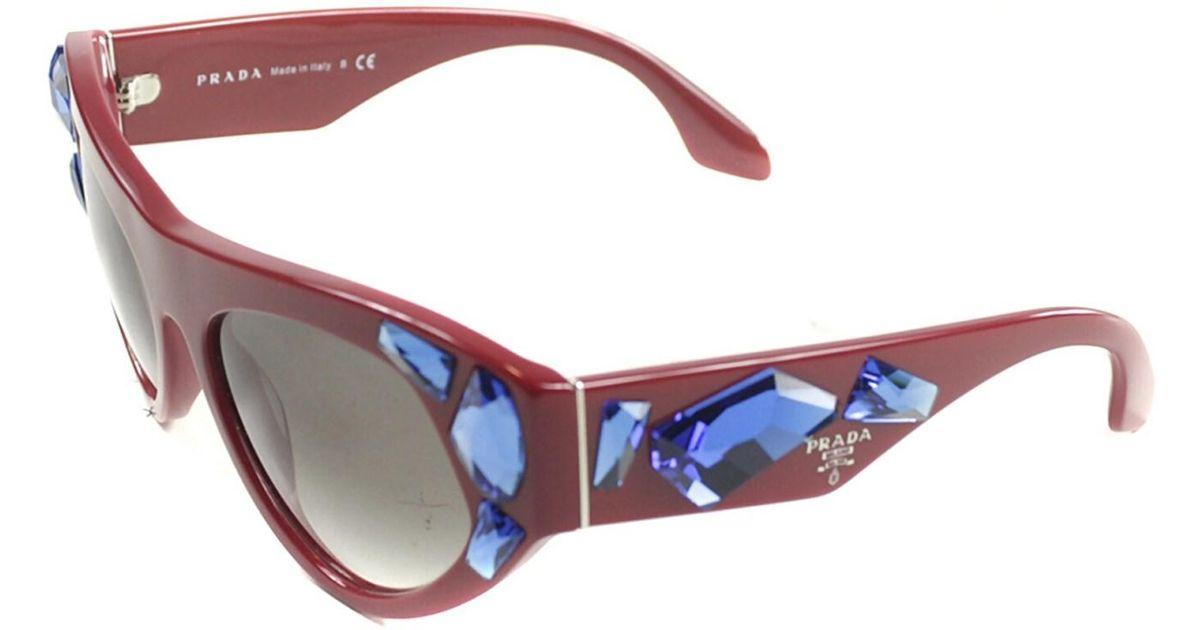 151005c3d5 Prada Red Cat Eye Glasses