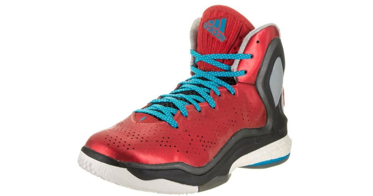 b266ccd1866 Lyst - Adidas Originals Men s D Rose 5 Boost Basketball Shoe in Red for Men