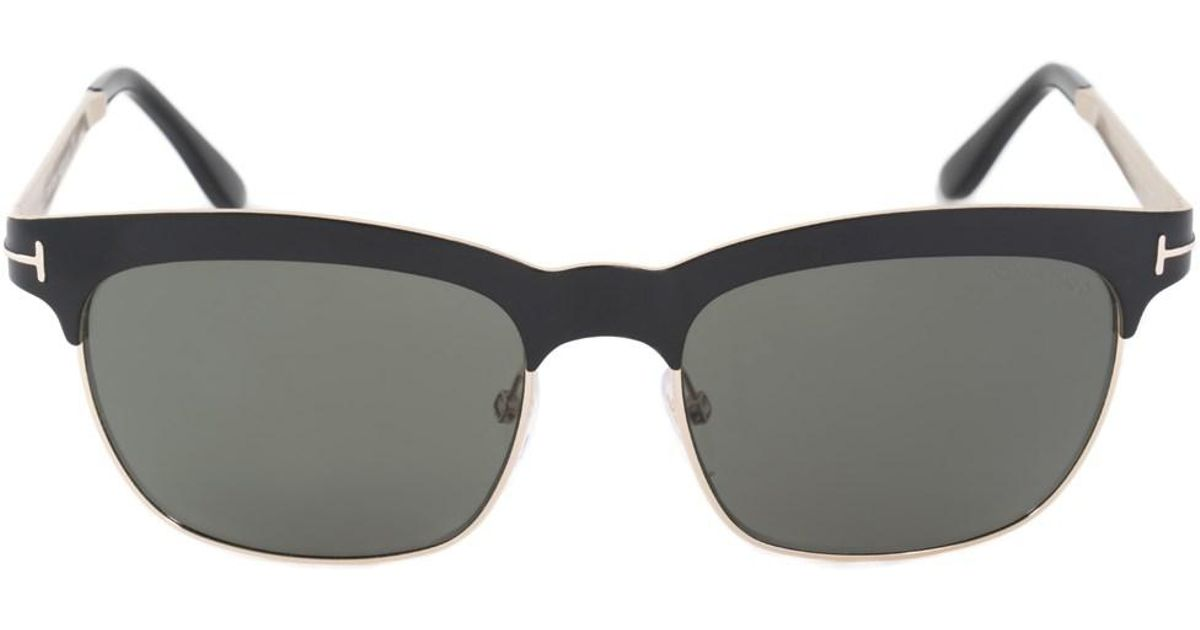2aefddf94ce Lyst - Tom Ford Elena Women s Soft Square Sunglasses Ft0437 05r 54 Pol