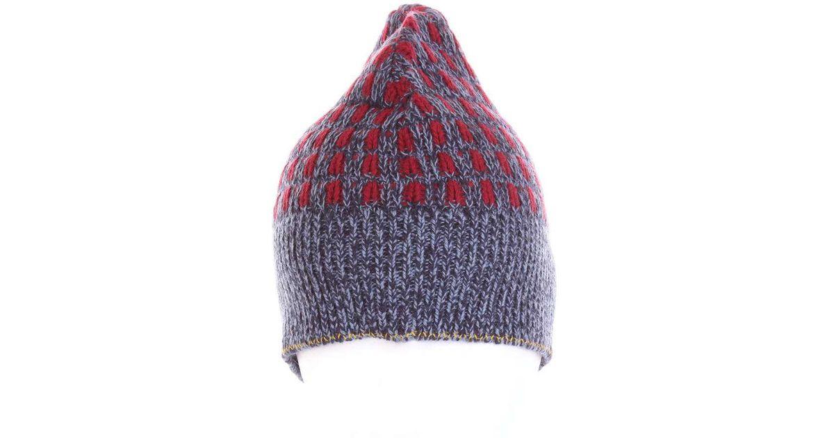 e9fe658700d Lyst - Prada Women s Multicolor Wool Hat