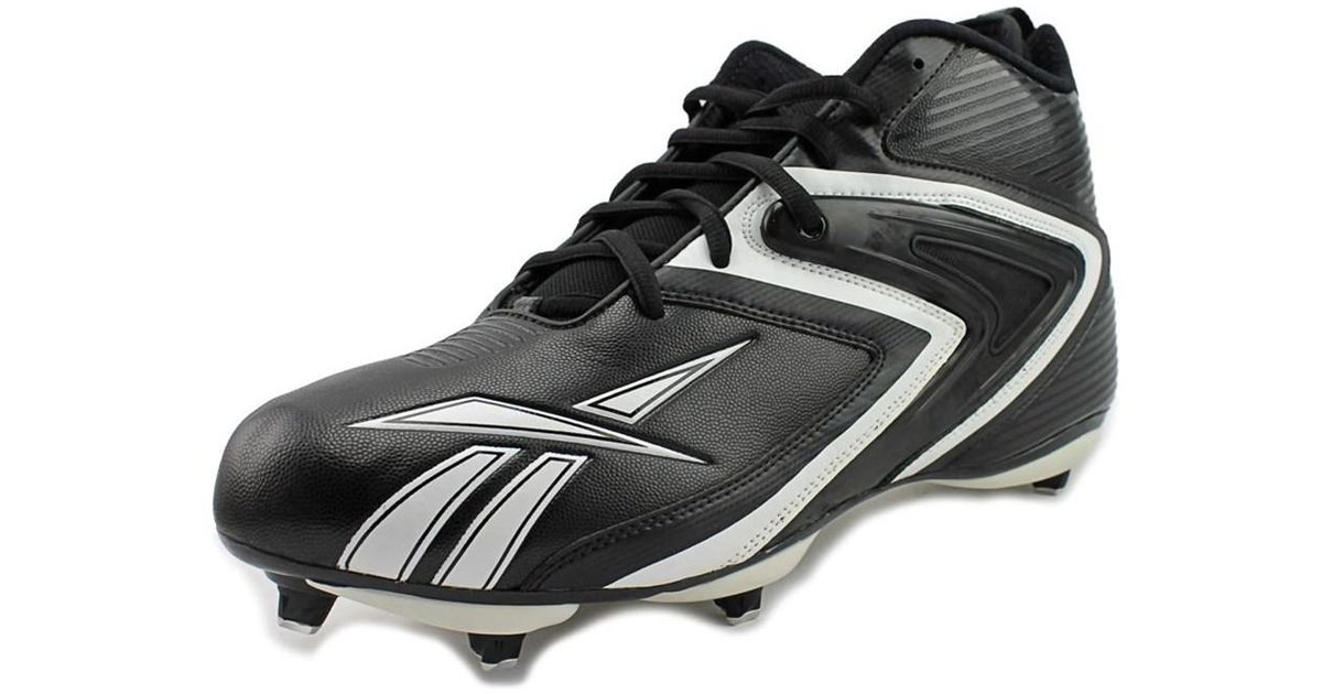 d231b5c6caf5 Lyst - Reebok Nfl Ferocious D3 Round Toe Synthetic Cleats in Black for Men