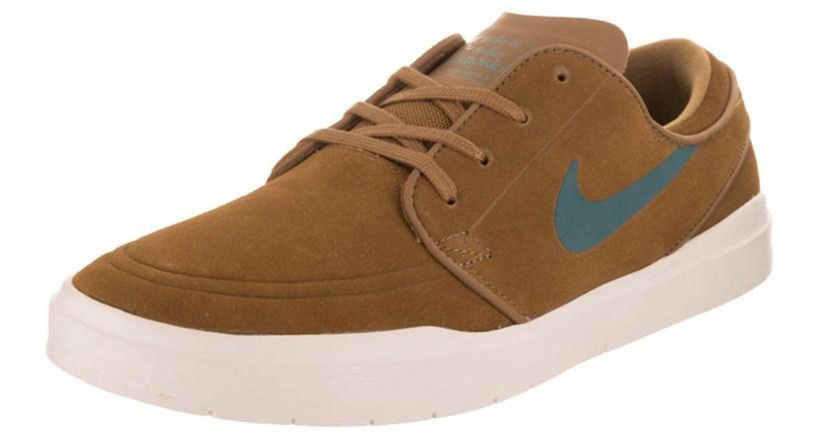 7d4d1f5dd1ec Lyst - Nike Men s Stefan Janoski Hyperfeel Skate Shoe in Brown for Men
