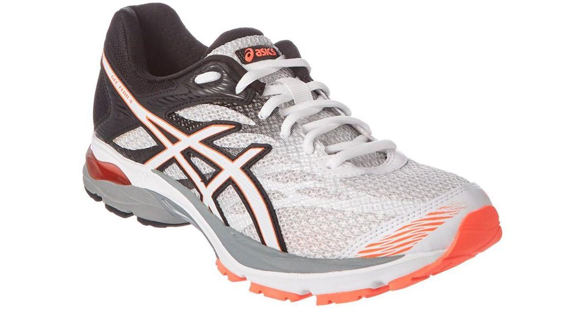 62fdcfd5646 Asics Women s Gel-flux 4 Running Shoe in White for Men - Lyst