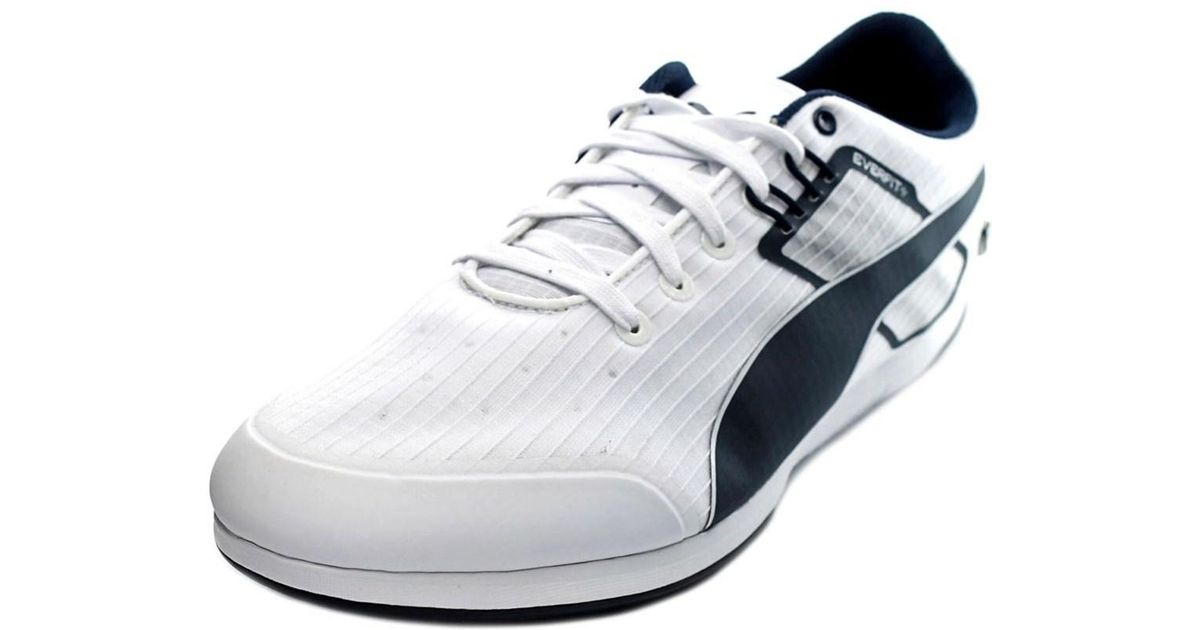 2d192e97b4f Lyst - Puma Bmw Ms Everfit Men Round Toe Synthetic White Sneakers in White  for Men
