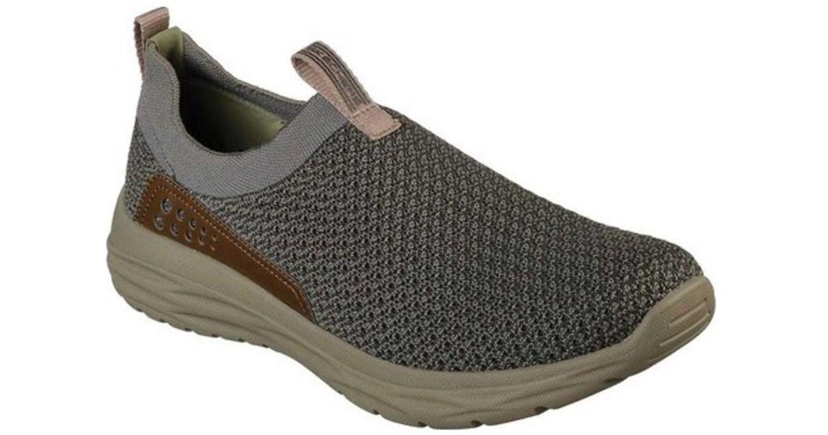 Skechers Harsen Relago Sneaker(Men's) -Desert Discount Purchase Online Shop reNQF