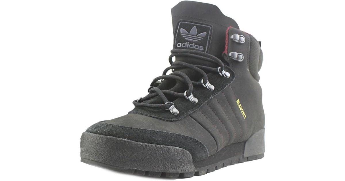 Lyst Adidas Jake bota punta redonda Synthetic negro boot para hombres