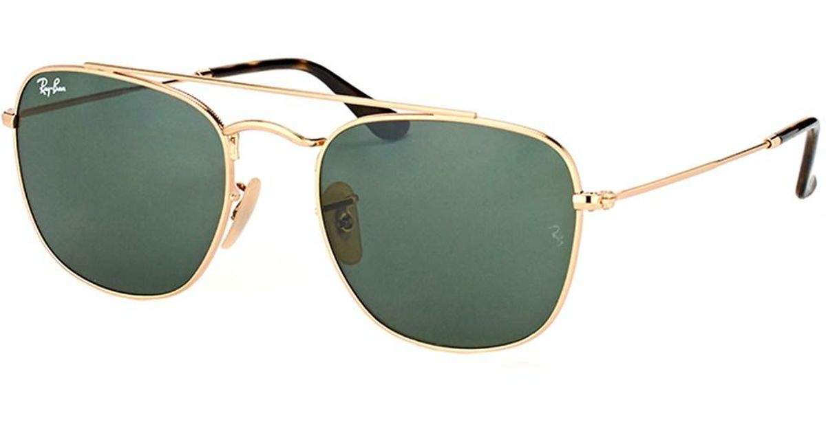 Ray-Ban RB3557 Sonnenbrille Gold RB3557 51mm 8dRbUZai