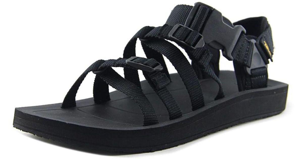 e6e86e661 Lyst - Teva M Alp Premier Men Open-toe Synthetic Black Sport Sandal in  Black for Men