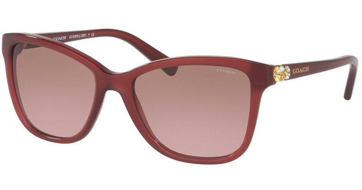 05a4938738f4b coupon for coach red sunglasses 449a5 58e09
