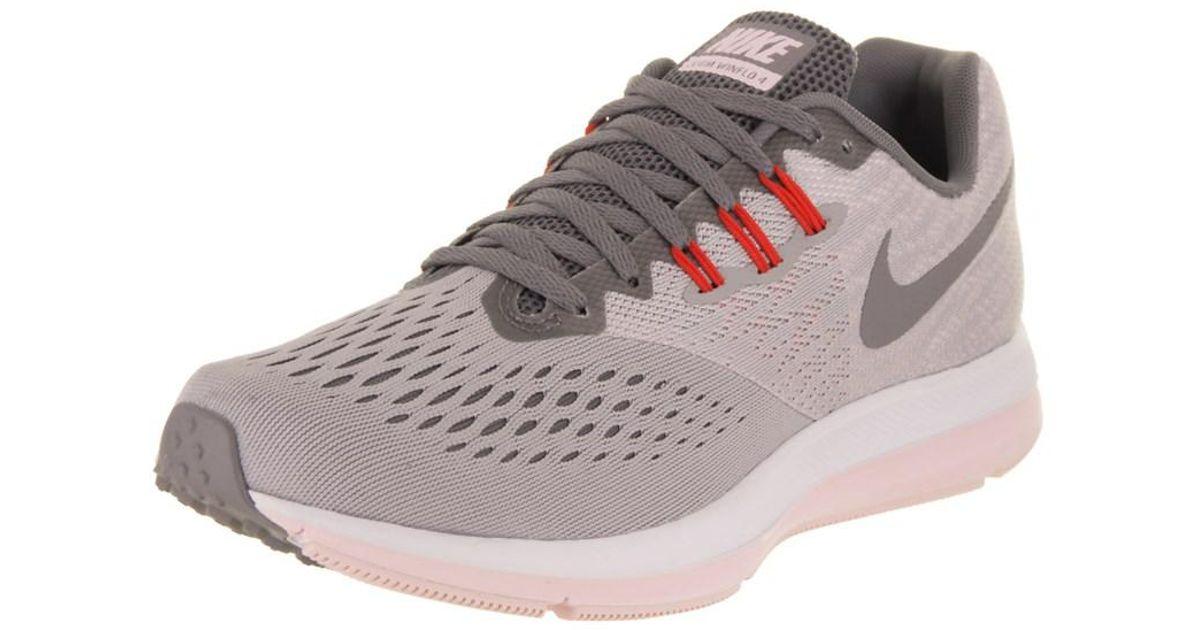 c10fe2b05c499 Lyst - Nike Women s Zoom Winflo 4 Running Shoe in Gray
