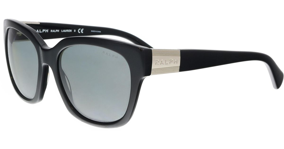 a066625caa4 Lyst - Ralph Lauren Ra5221 137711 Black Square Sunglasses in Black