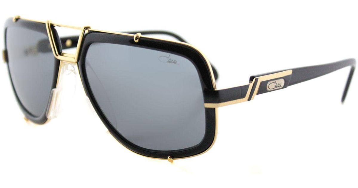 c5293d6c8baa Lyst - Cazal 656 001sg Black Aviator Sunglasses