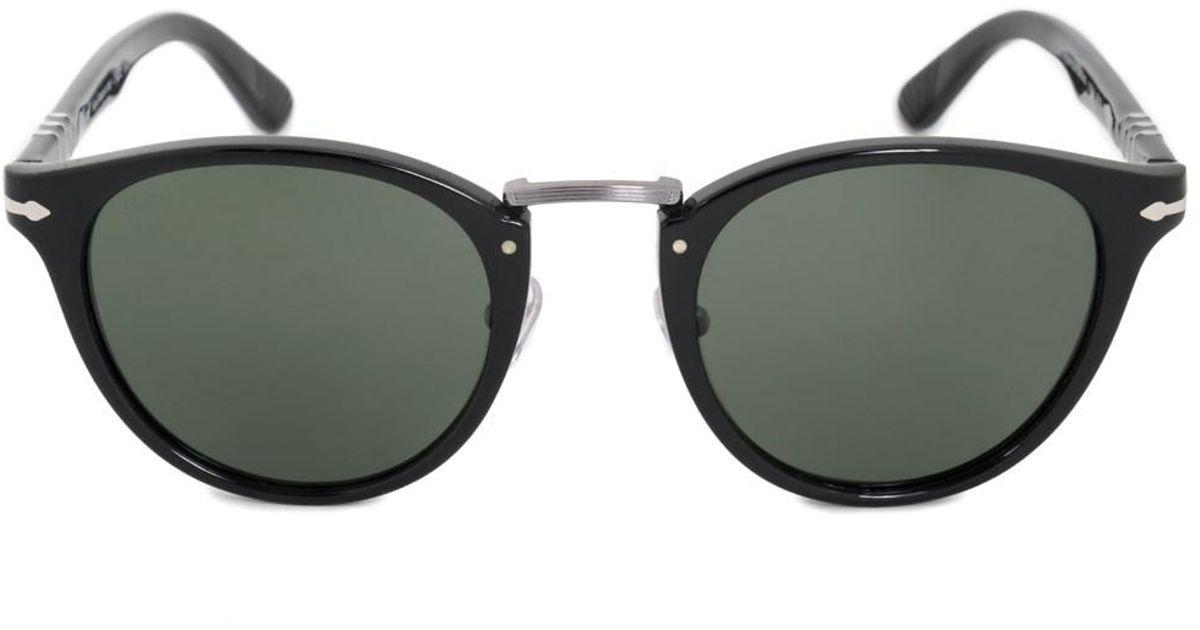 e3784c4bc6 Lyst - Persol Typewriter Edition Oval Sunglasses Po3108s 95 31 49 in Black