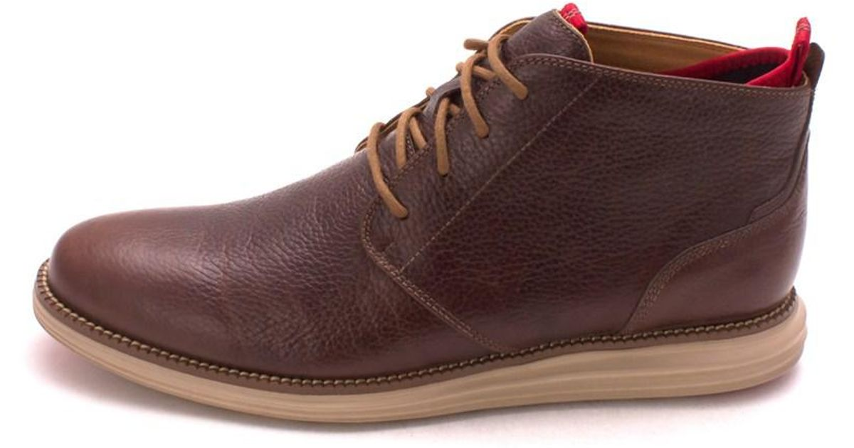 7d4c21ba9cee2 Lyst - Cole Haan Mens Original Grand Chukka Leather Closed Toe Ankle  Fashion Boots in Brown for Men