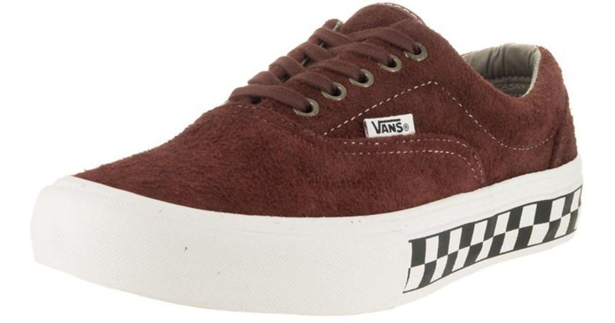 86e5fccc48 Lyst - Vans Men s Era Pro (foxing Checkers) Skate Shoe in Brown for Men