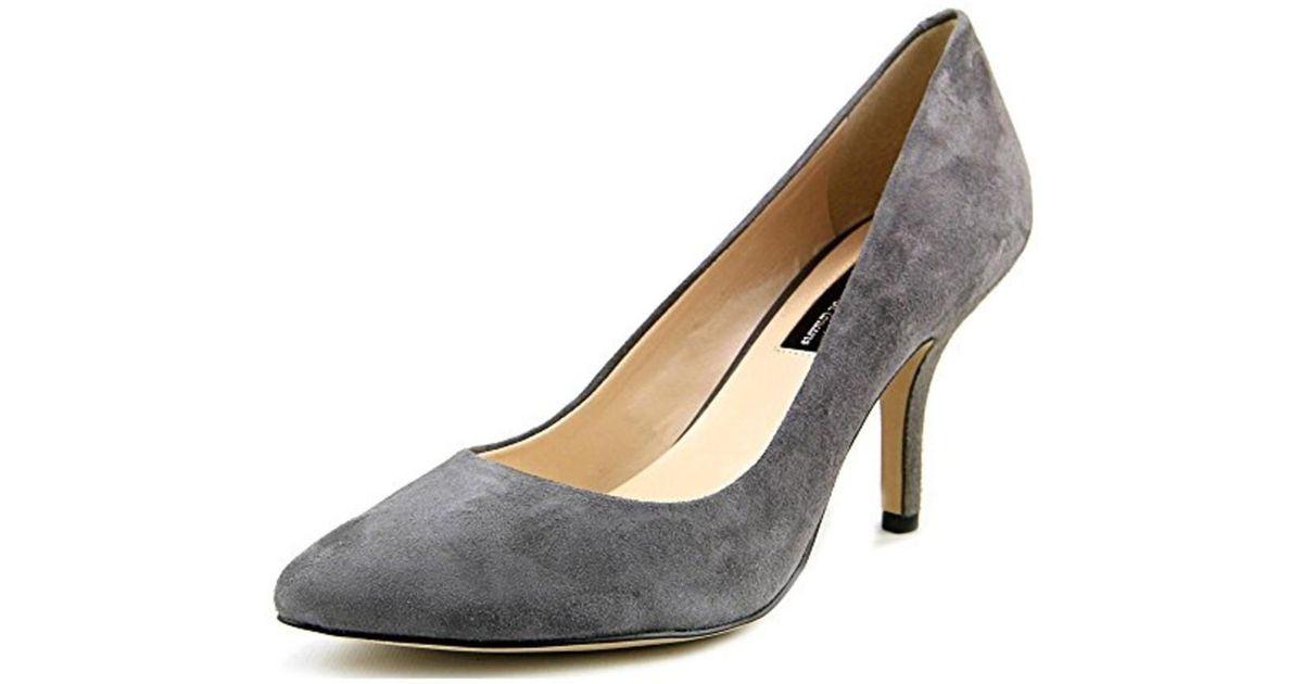 e8026ec28fc1 Lyst - Inc International Concepts Womens Zitah Leather Closed Toe Classic  Pumps in Gray