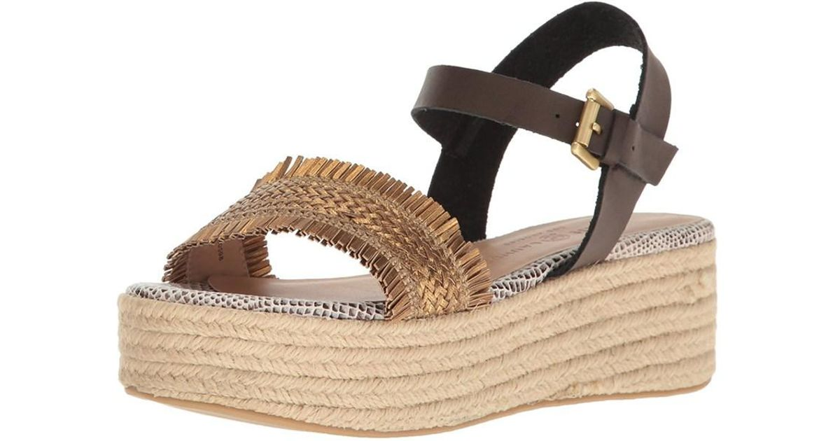 f63821cf0f6 Lyst - Chinese Laundry Womens Ziba Open Toe Casual Espadrille Sandals in  Brown