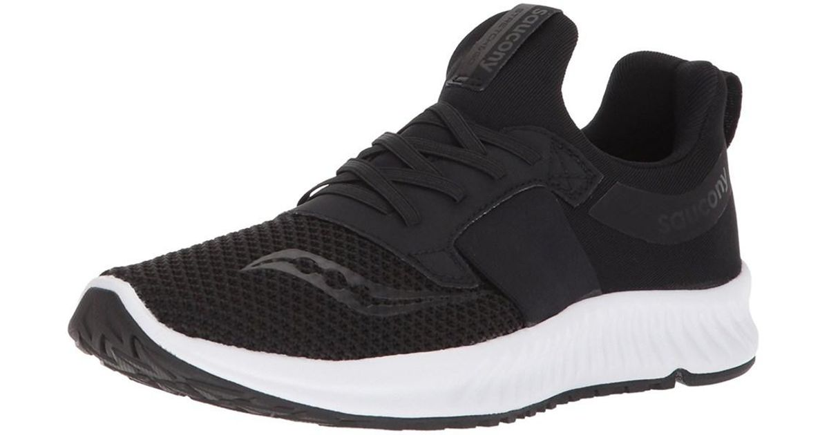 6f365af959 Saucony - Black Women's Stretch N Go Breeze Running Shoe - Lyst