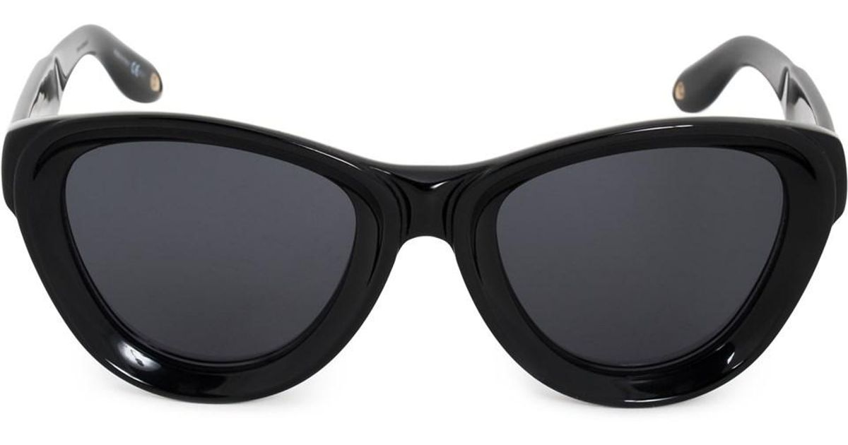 5a1d9632a1f16 Lyst - Givenchy Cat Eye Sunglasses Gv7073 s 807 ir 52 in Black