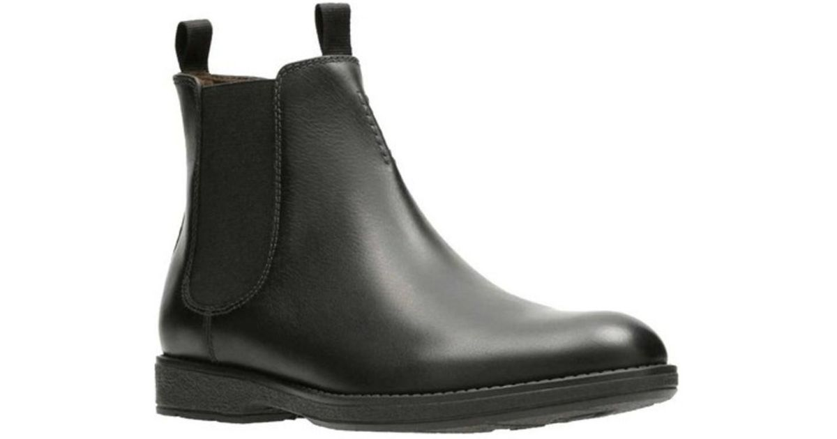 Clarks Hinman Bottes Chelsea Homme