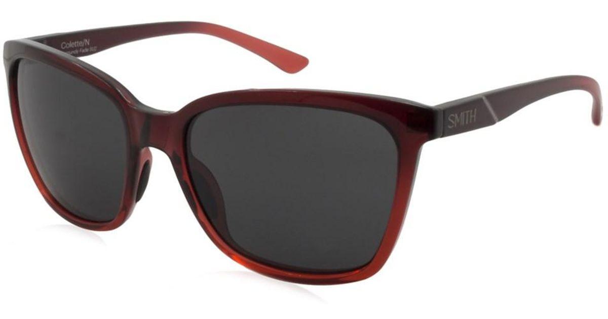d8949e926ecbc Lyst - Smith Colette N Women Sunglasses in Black