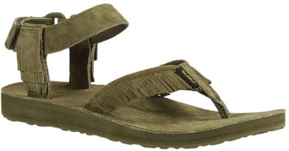 Teva Original Ankle Strap Sandal with Fringe (Women's) gWgka