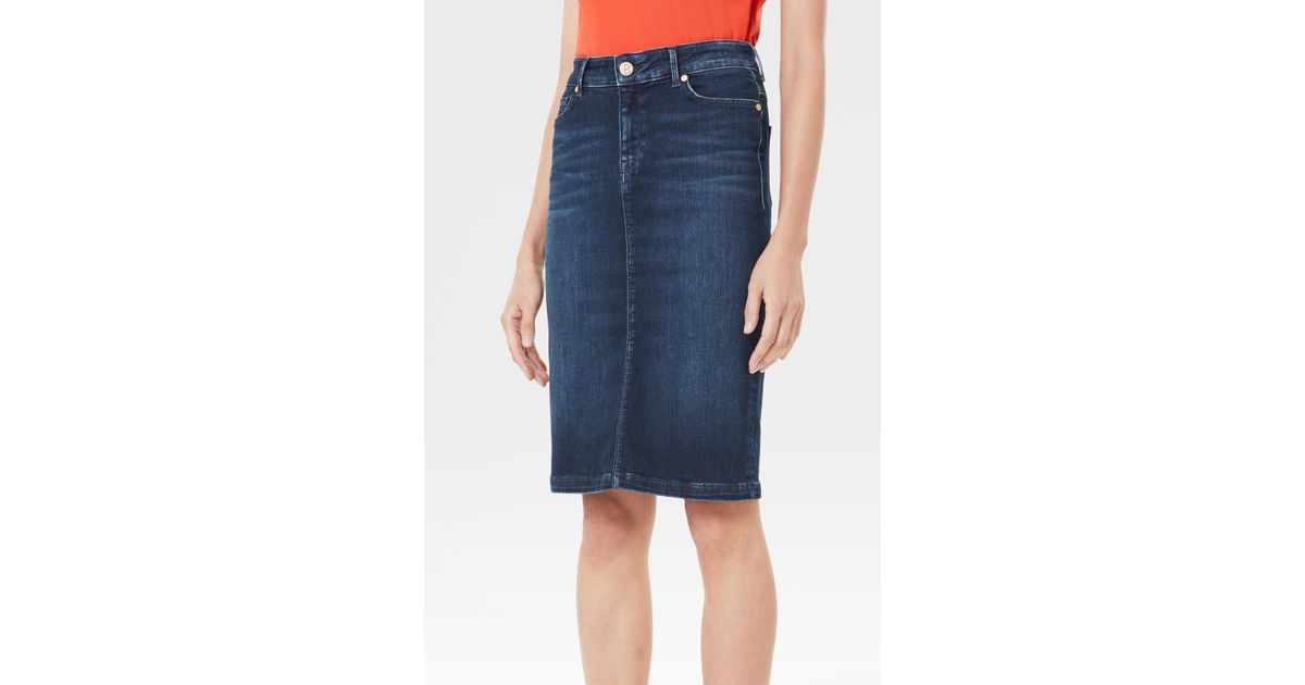 641fdc3a3eed76 Bogner Jodie Skirt In Denim Blue in Blue - Lyst