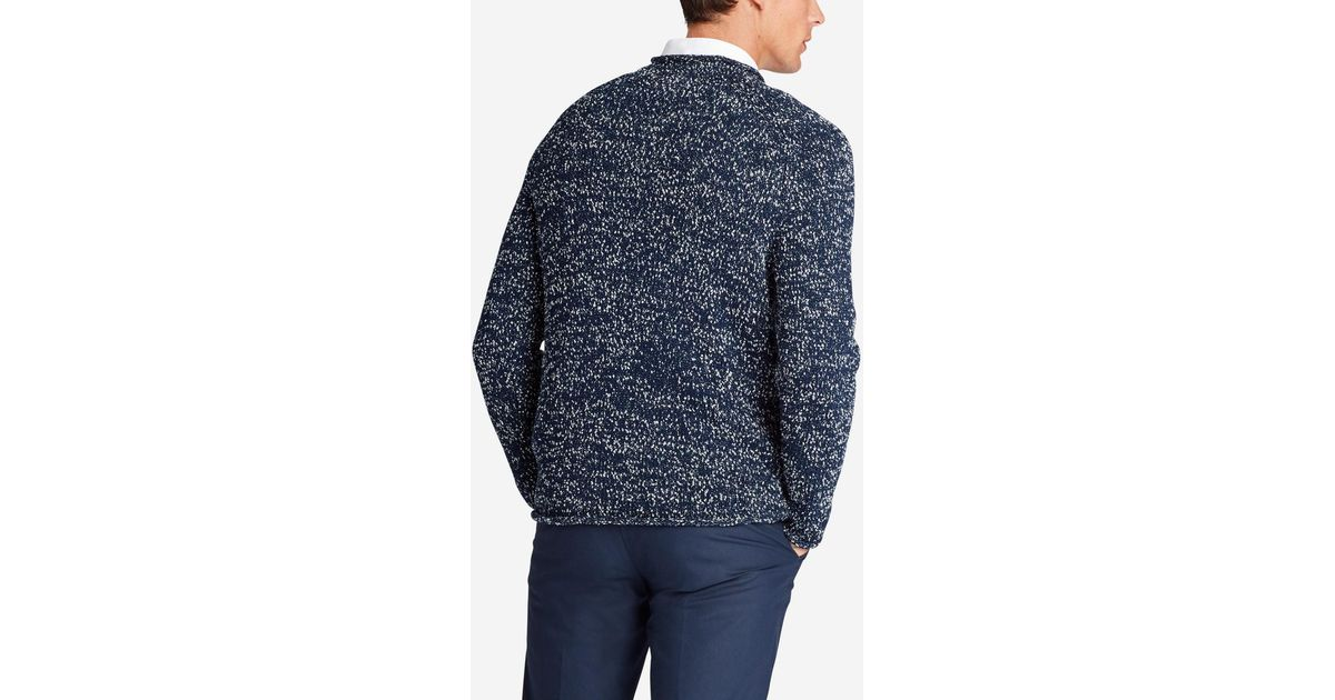 Bonobos Italian Cotton Roll Neck Sweater in Blue for Men | Lyst