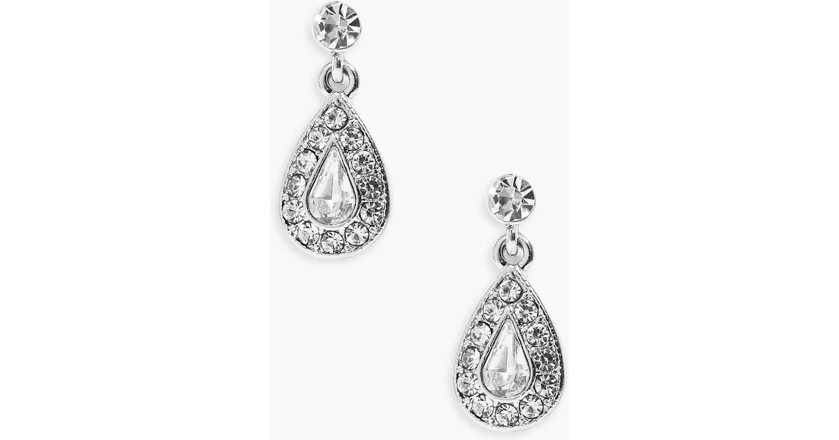 earrings diamante makada p dangle women black
