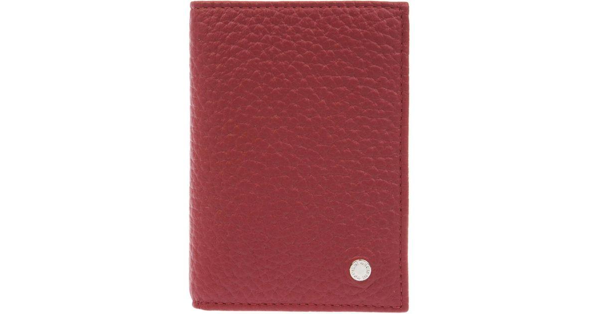 69fd06befc Lyst - Orciani Portafogli in Red for Men