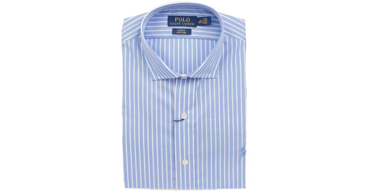 best service 59182 8b545 Polo Ralph Lauren - Blue Camicia for Men - Lyst