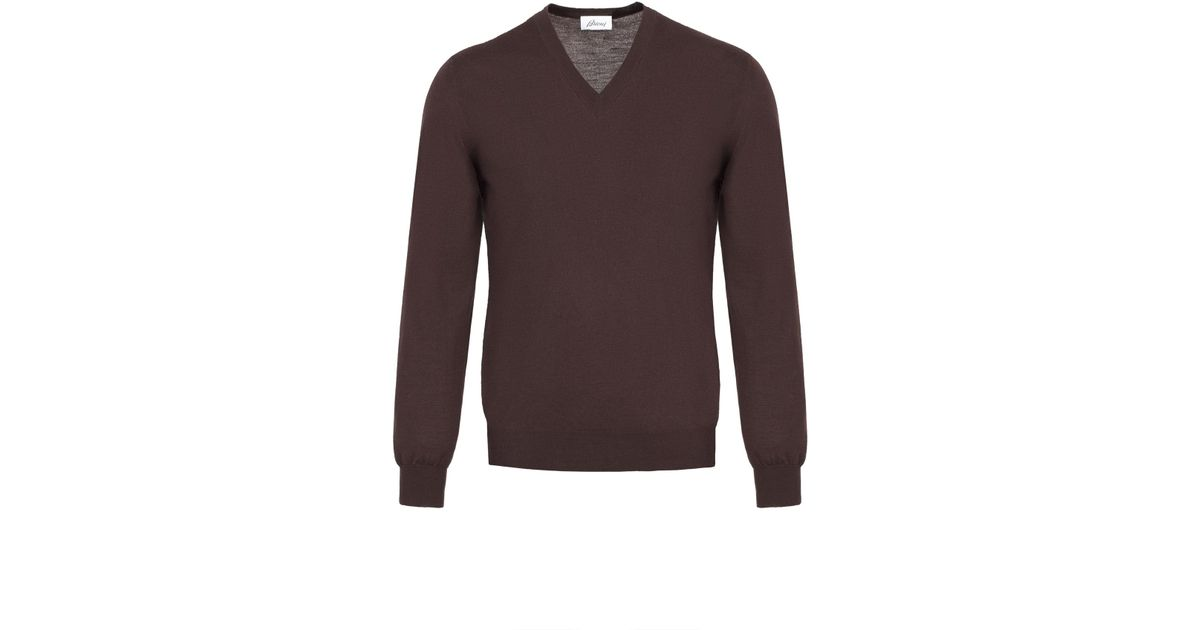Chocolate Brown V Neck Sweater – Chocolate