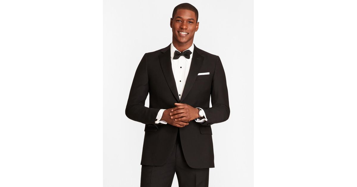 c18872bbf596 Lyst - Brooks Brothers 1818 One-button Fitzgerald Tuxedo in Black ...