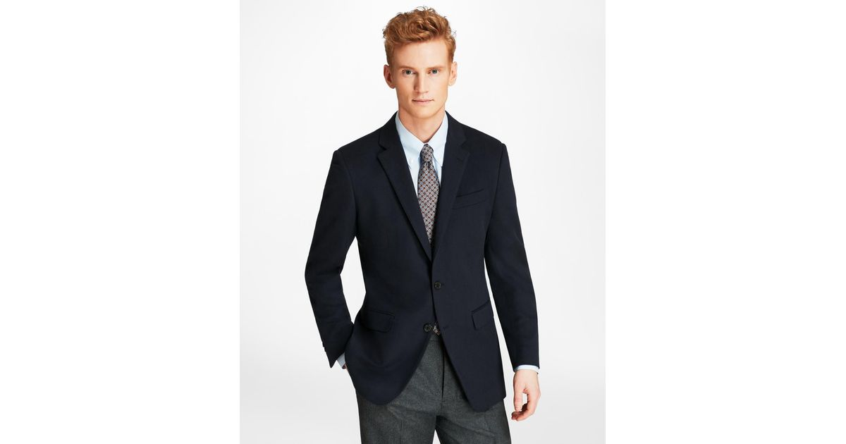 d4c8f1da8a7 Lyst - Brooks Brothers Milano Fit Two-button Cashmere Sport Coat in Blue for  Men