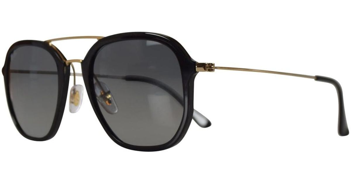 6a38a55a0e Lyst - Ray-Ban Ray Ban Sunglasses Black gold Highstreet Sunglasses in Black  for Men